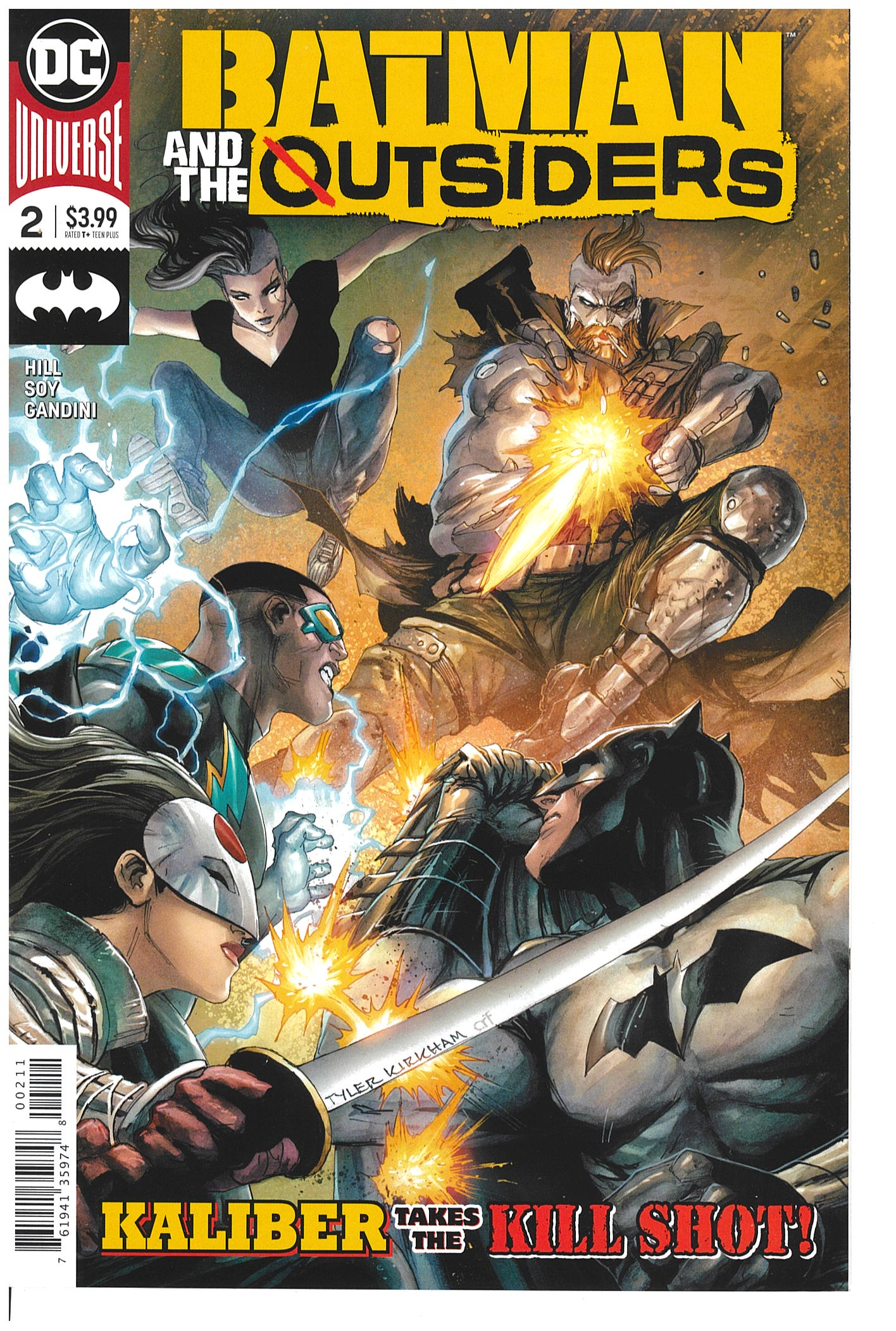Batman and the Outsiders #2  2019