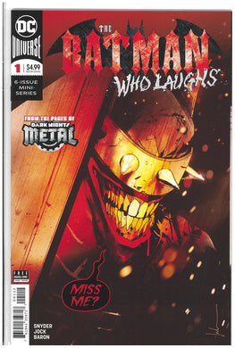 Batman Who Laughs #1 2nd print variant 2019