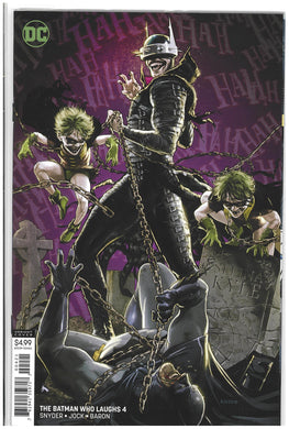 Batman Who Laughs #4 Kaare Andrews variant 2019