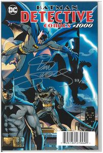 Detective Comics #1000 Dynamic Forces signed by Dan Jurgens
