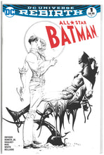 Load image into Gallery viewer, All Star Batman #1 Dynamic Forces Jae Lee B/W 2016