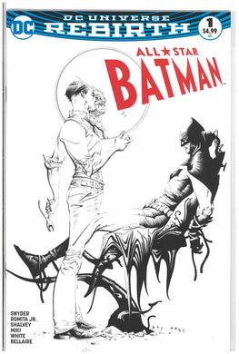 All Star Batman #1 Dynamic Forces Jae Lee B/W 2016