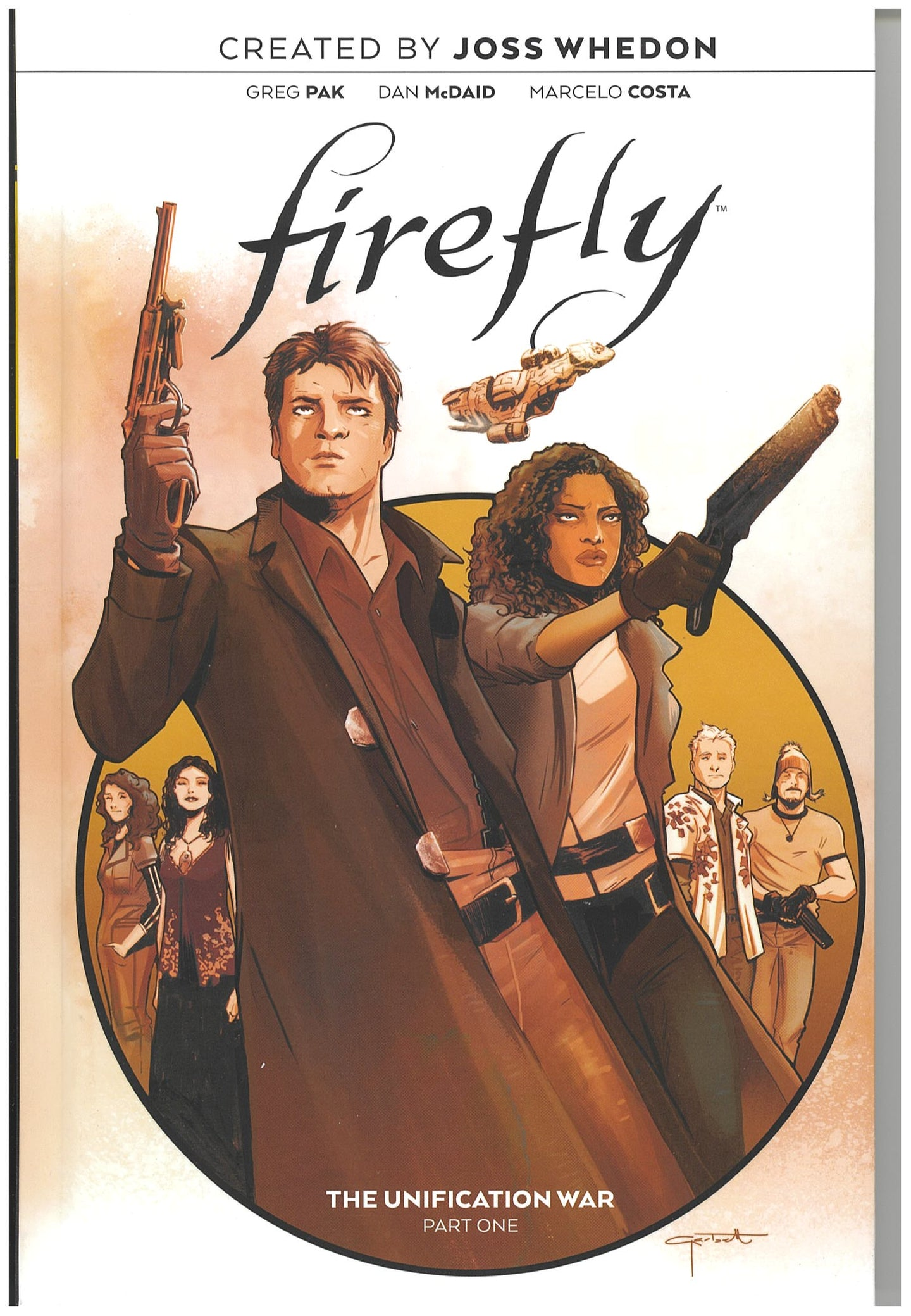Firefly the Unification War Hardcover 2019