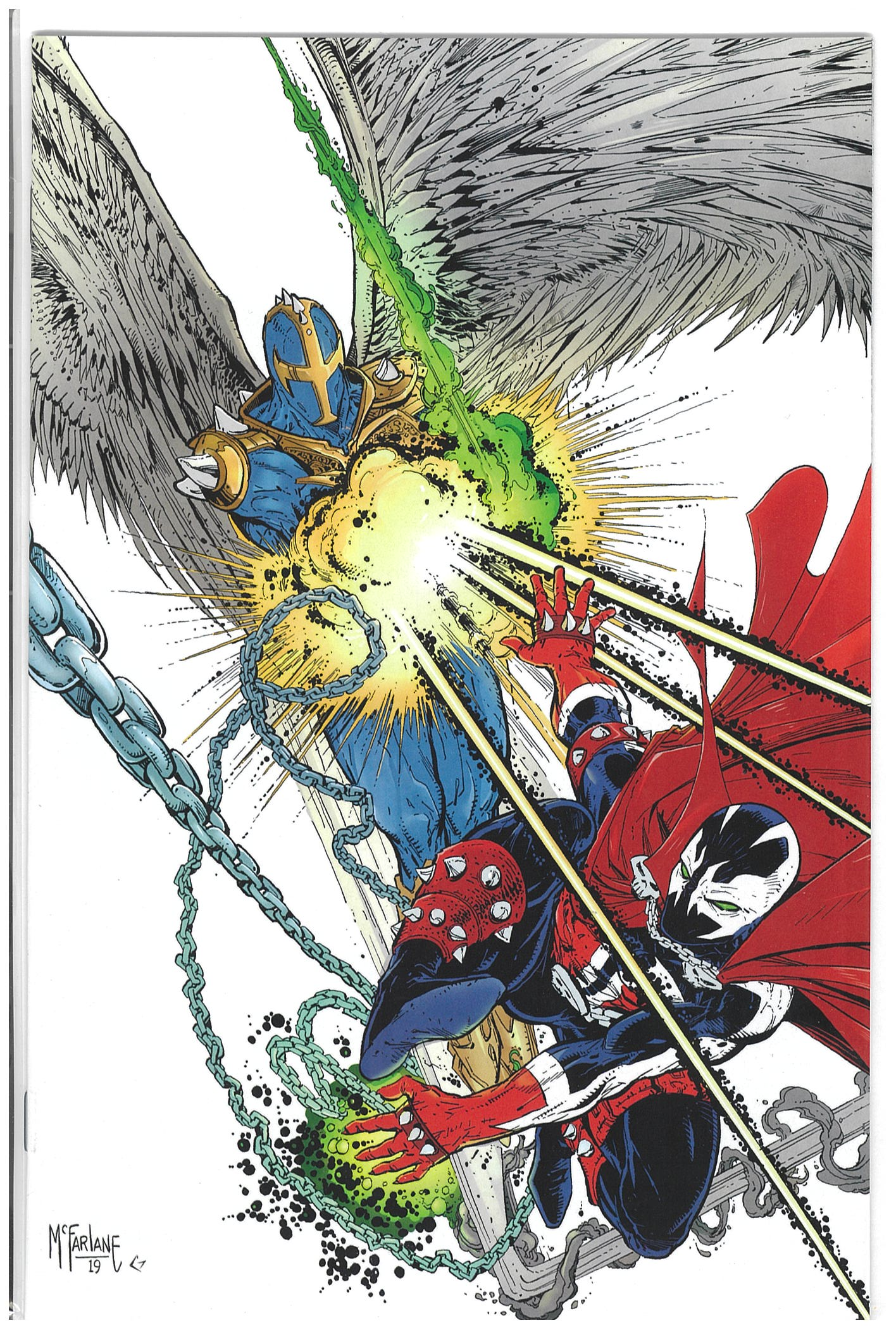 Spawn #298 cover B Todd McFarlane virgin variant 2019