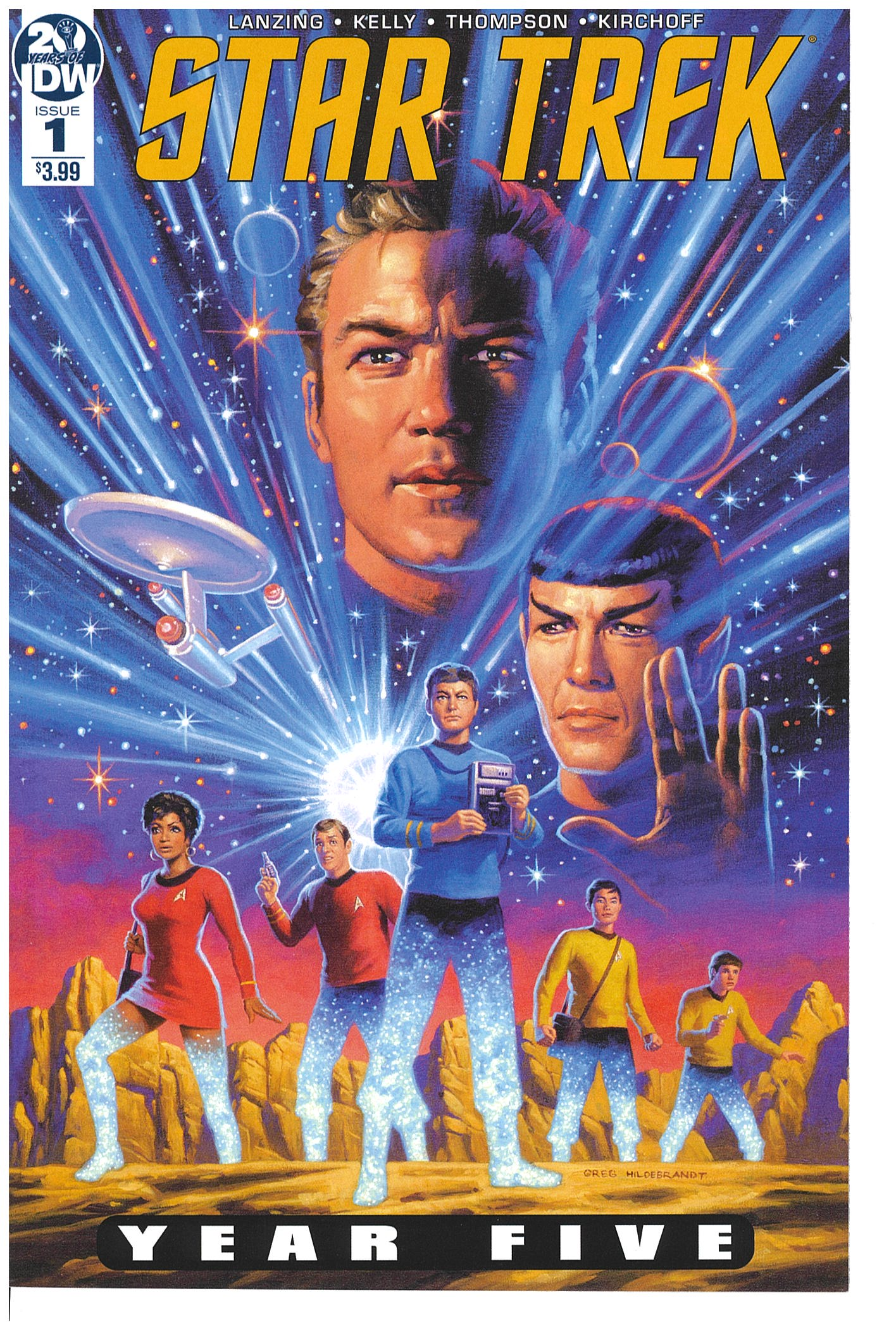 Star Trek Year Five #1 2019