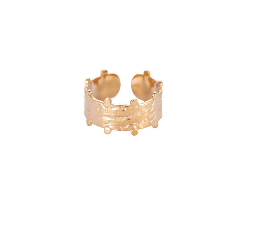 Lovely 14K Vergulde Ring