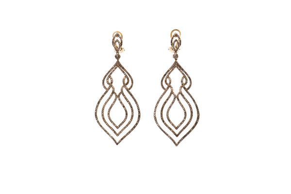 Diamond Drop Earrings (ER7293)