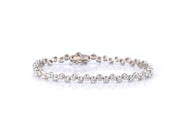 Alternating Diamond Bracelet (BR3109)