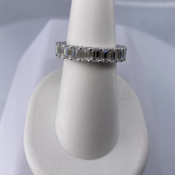 Emerald Cut Eternity Band (ET142)