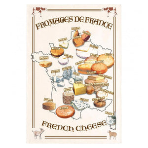 Torchon Carte fromages