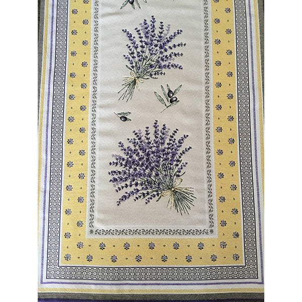 Lavender Table Runner (Yellow)
