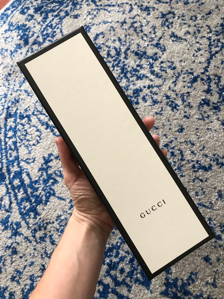 Huge Empty Gucci Jewelry Gift Box