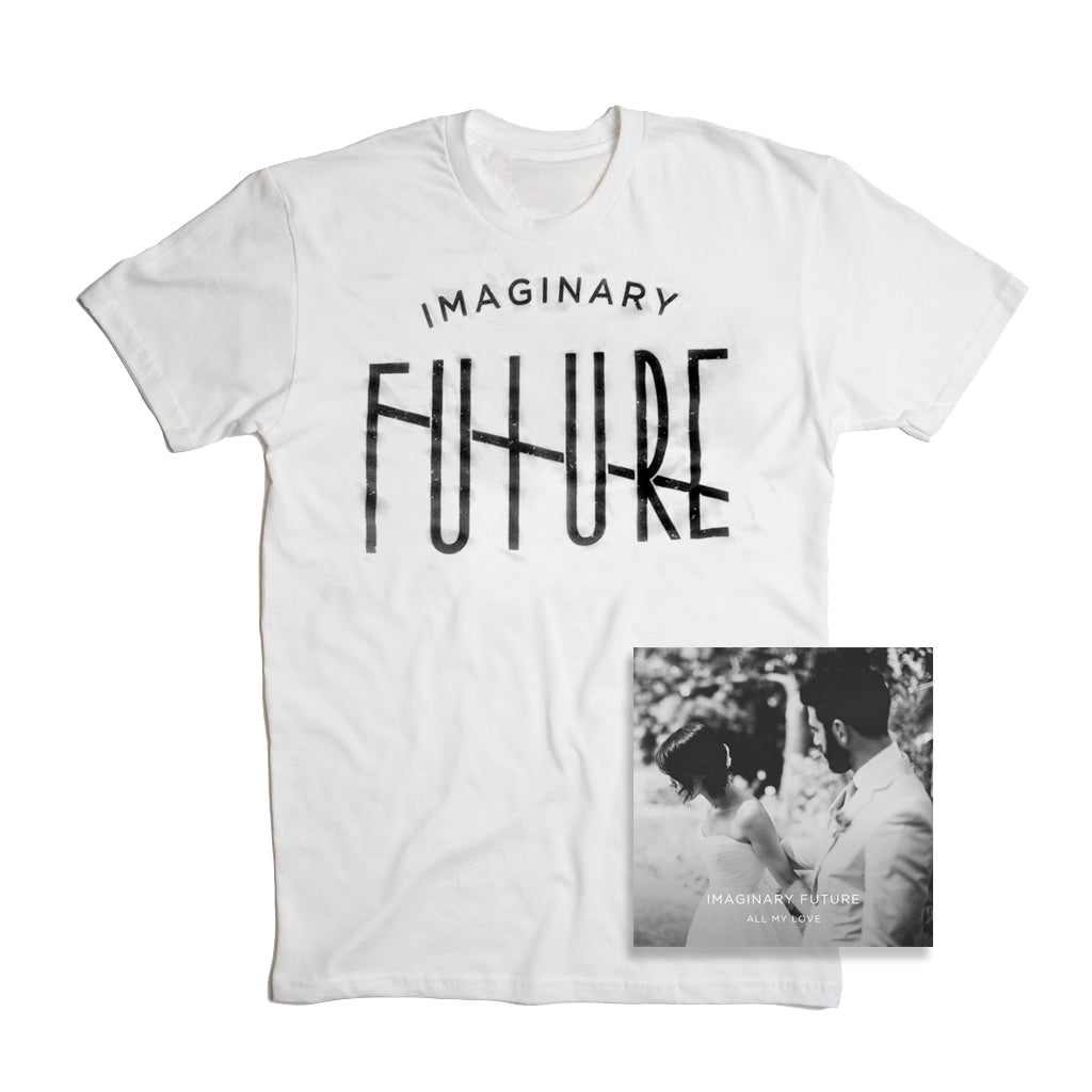 CD + Shirt Bundle (White)