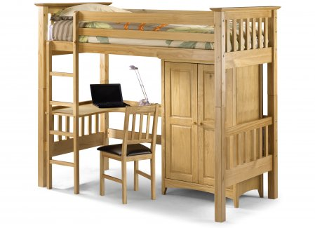 Julian Bowen Children's Bedsitter Bunk Bed