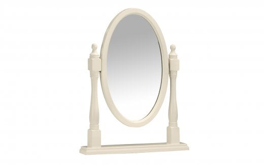 Julian Bowen Josephine Oval Dressing Table Mirror