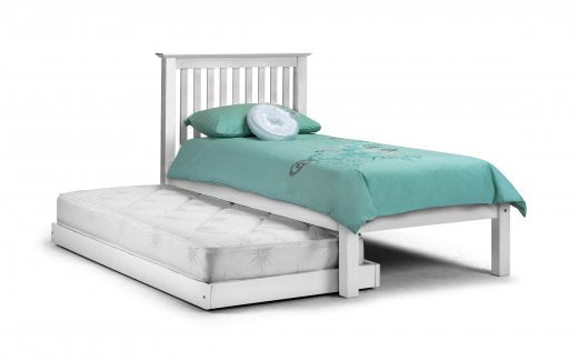 Julian Bowen Barcelona Hideaway Bed Stone White Single