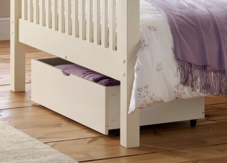 Julian Bowen Underbed Storage Stone White