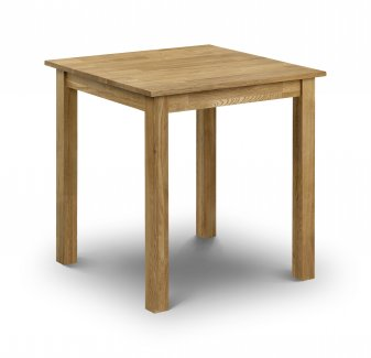 Coxley Oak Square Dining Table