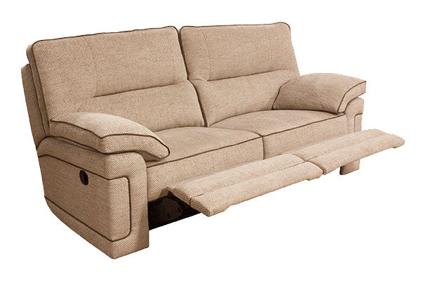 Plaza Electric 3 Seater Recliner Sofa Standard Back Grade A