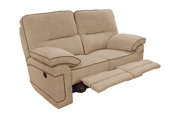 Plaza Electric 2 Seater Recliner Sofa Standard Back Grade A