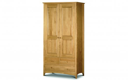Julian Bowen Kendal Flat Packed Combination Wardrobe