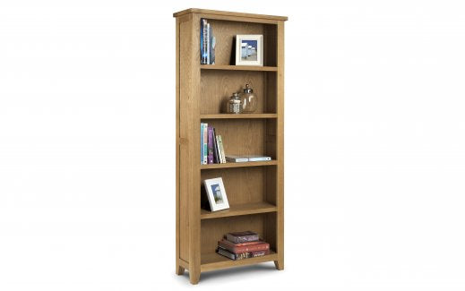Julian Bowen Astoria Large Bookcase Assembled