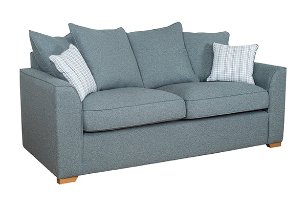 Louis 3 Seater Sofa and 2 Seater Sofa Pillow Back