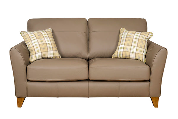 Fairfield Leather 2 Seater Sofa Standard Back Windsor