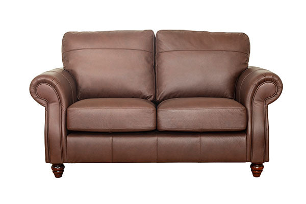 Finley Leather 3 Seater Sofa Standard Back Windsor