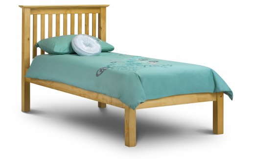Julian Bowen Barcelona Low Foot End Bed Pine  Single
