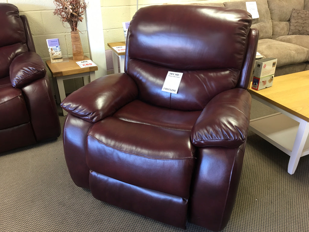 Althorpe Power Recliner - Ex Display
