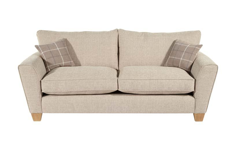 Allure 3 Seater Sofa in Beige