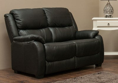 Parker Leather 2 Seater Sofa
