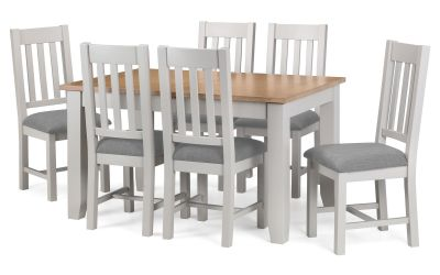 Next Generation Kingham Dining Table 6 Chairs