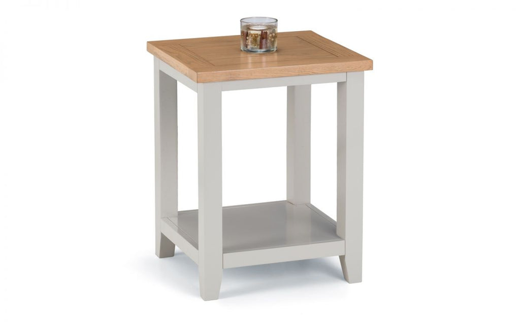 Next Generation Kingham Grey Lamp Table
