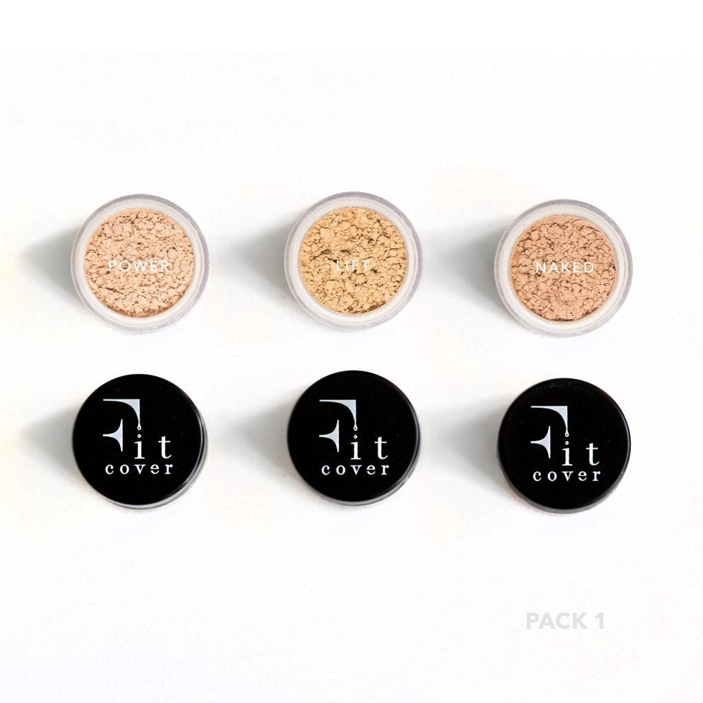 Light Sample Pack - Active Mineral Powder Foundation