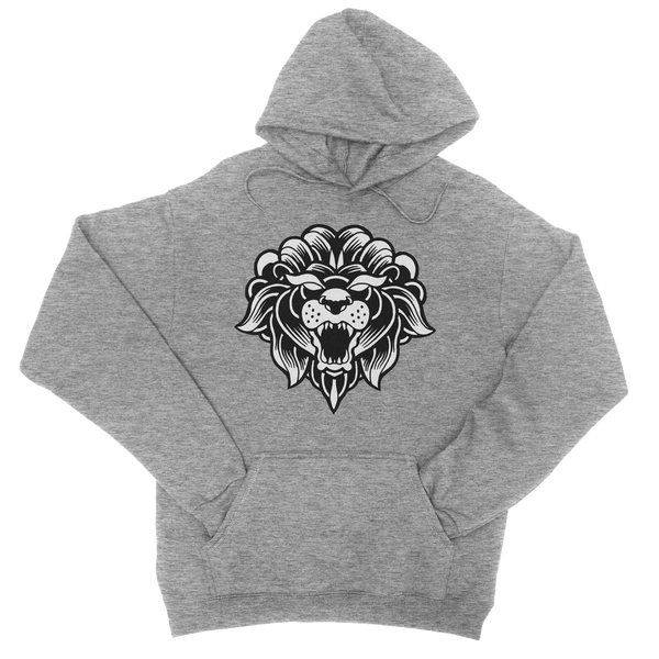 Classic Hoodie Heather Grey