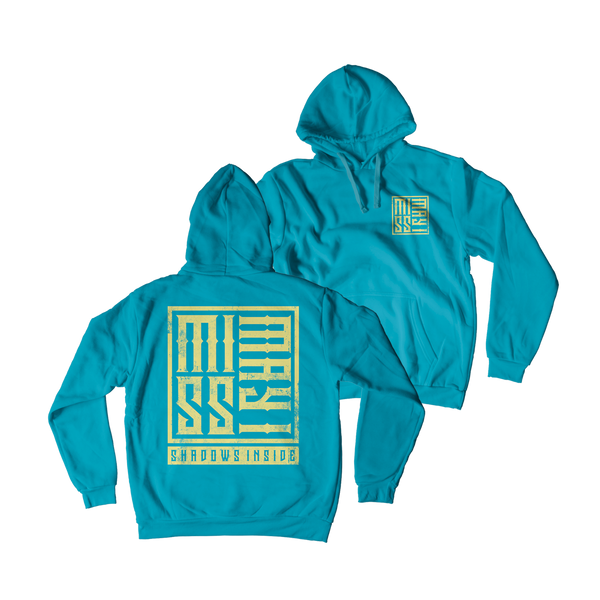Miss May I - Shadow Box Custom Dye Hoodie