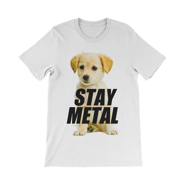 Stay Metal Golden Pup