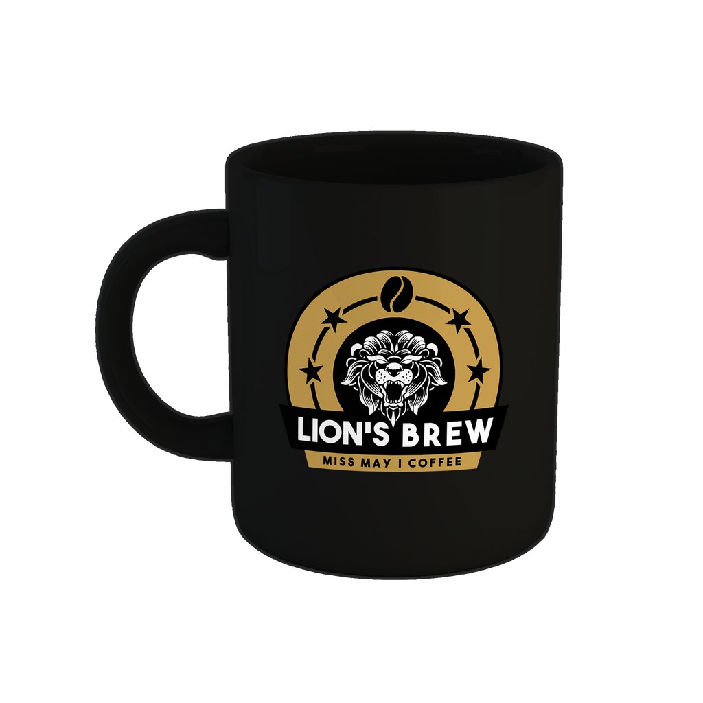 Lion's Brew Mug - Black