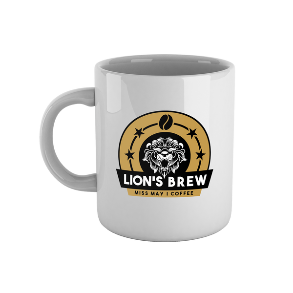 Lion's Brew Mug - White