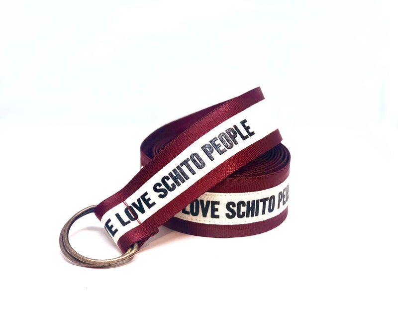 Belt Schito People Red