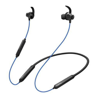 Dyplay  Anc Sport Bluetooth Earbuds Neckband Headset (Blue)
