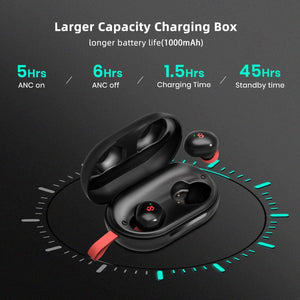 dyplay ANC True Wireless Earbuds Bluetooth 5.0 in-Ear Headphones