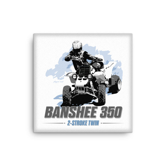 Banshee 350 Canvas Print by Flippin' Mud®