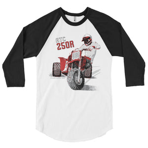 ATC 250R - 3/4 Sleeve Raglan Shirt by Flippin' Mud®