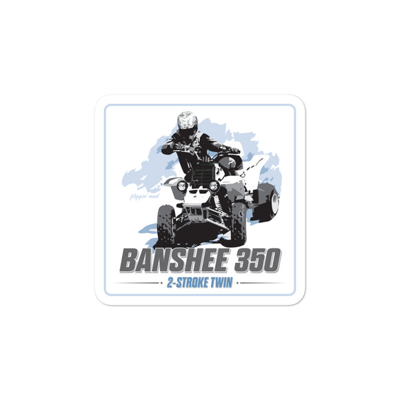 Banshee 350 Sticker by Flippin' Mud®