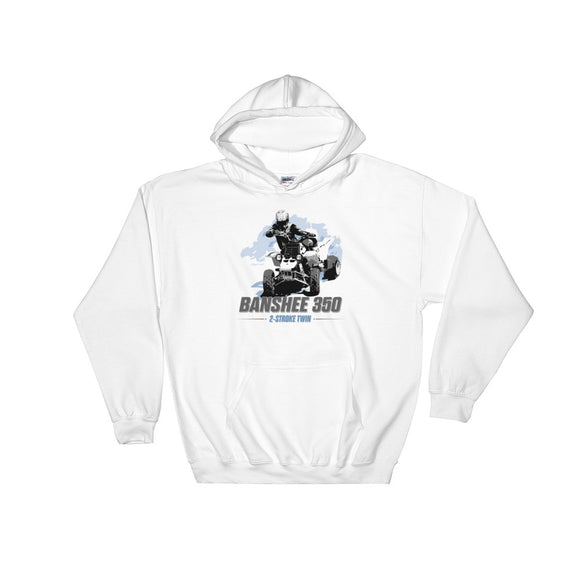 Banshee 350 Hooded Sweatshirt by Flippin' Mud®