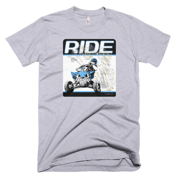 """RIDE"" Front Print - American Apparel T Shirt"