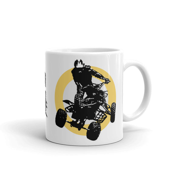 Quad Silhouette Mug Yellow
